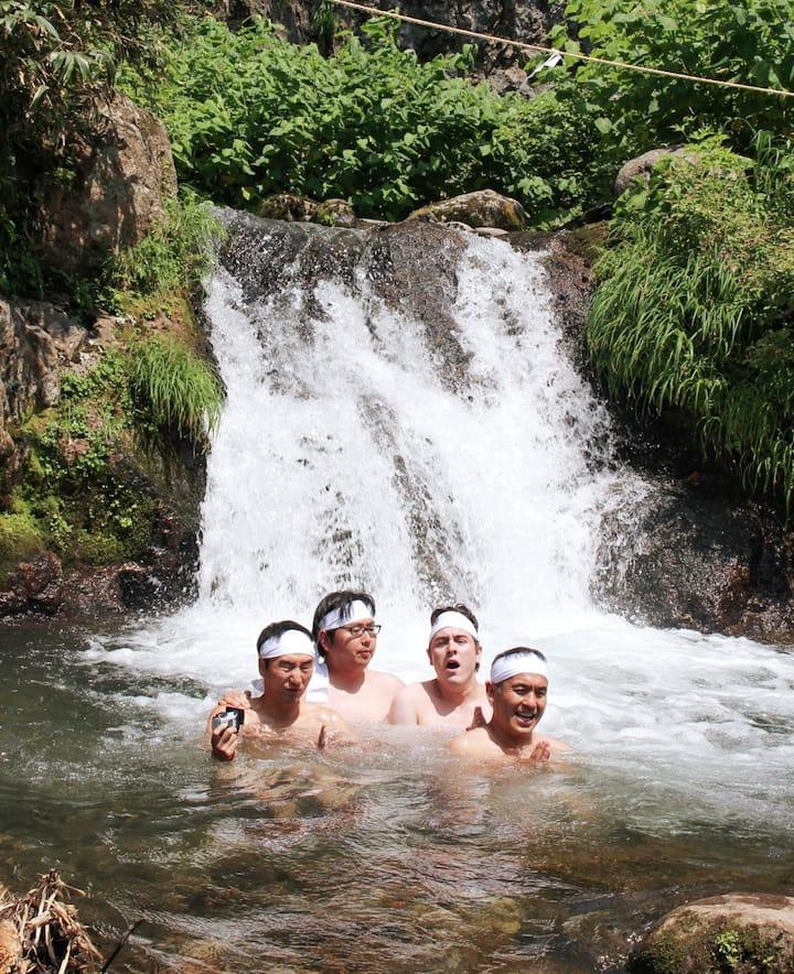 Yamabushi Waterfall Ritual