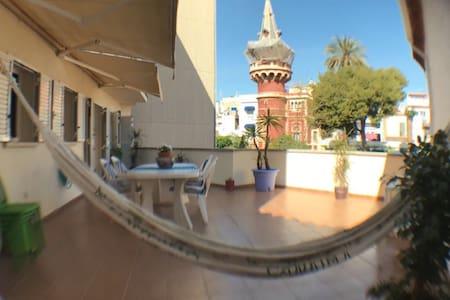 Piso con gran terraza en el centro de Sitges - Sitges - Wohnung