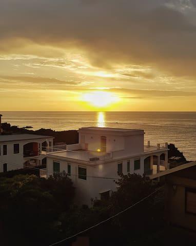 Alba - Sunrise from the terrace