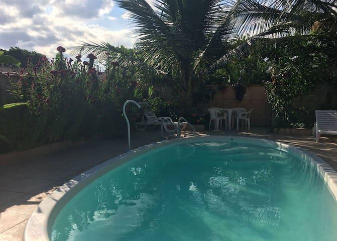 Suíte 3 com piscina e wi-fi em Caraguatatuba