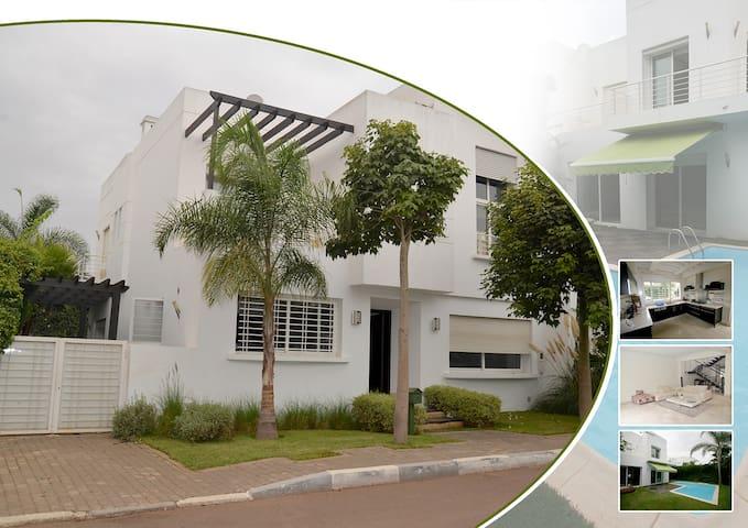 Magnifique Villa Casablanca piscine et sécurité