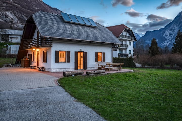 House in Bovec with amazing mountain view