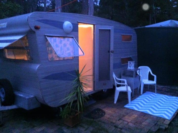 Cosy Clean Caravan on Doonan Acreage Sleeps 3.