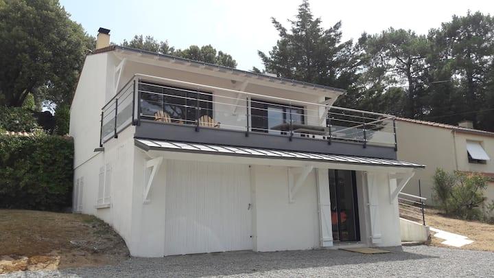 Maison de vacances avec 3 chambres et la vue mer