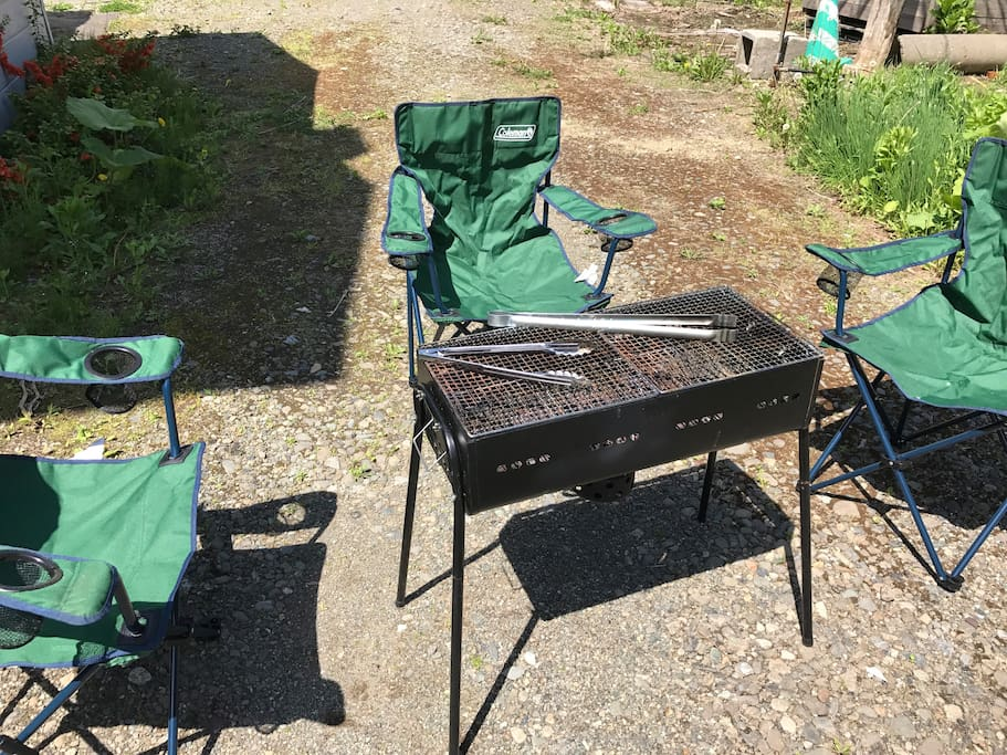 I'll be host of BBQ