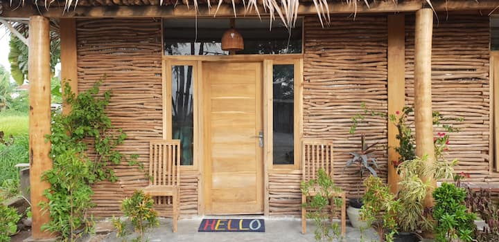 "Ananda Cabin ""Flamingo"" 2 beds"