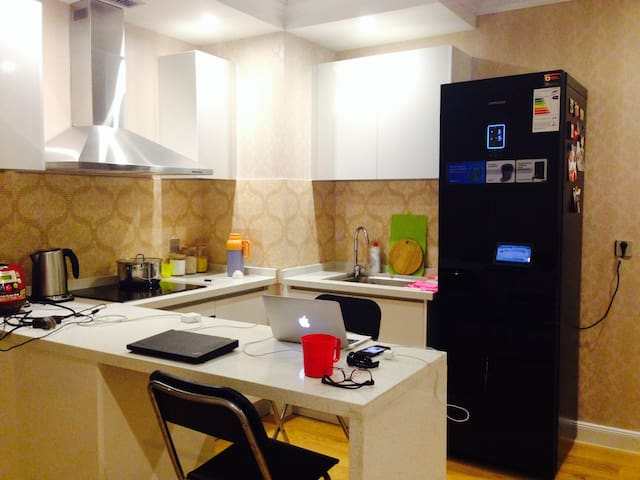 Fully furnished new apartment close to city center