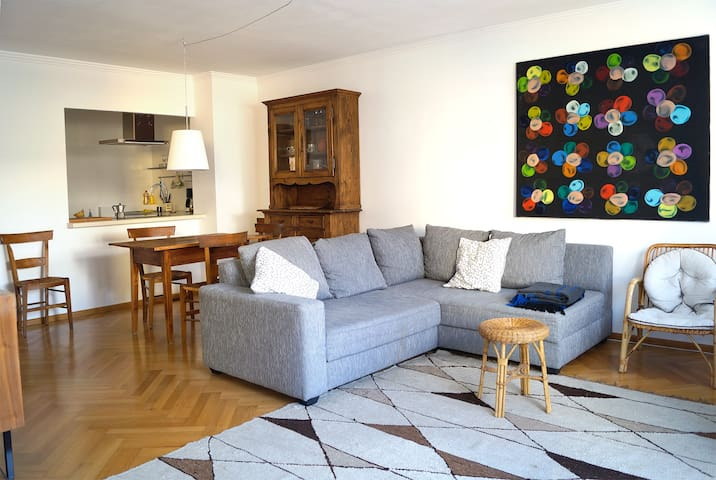 Sunny, quiet and central apartment with terrace - Vienna - Apartment