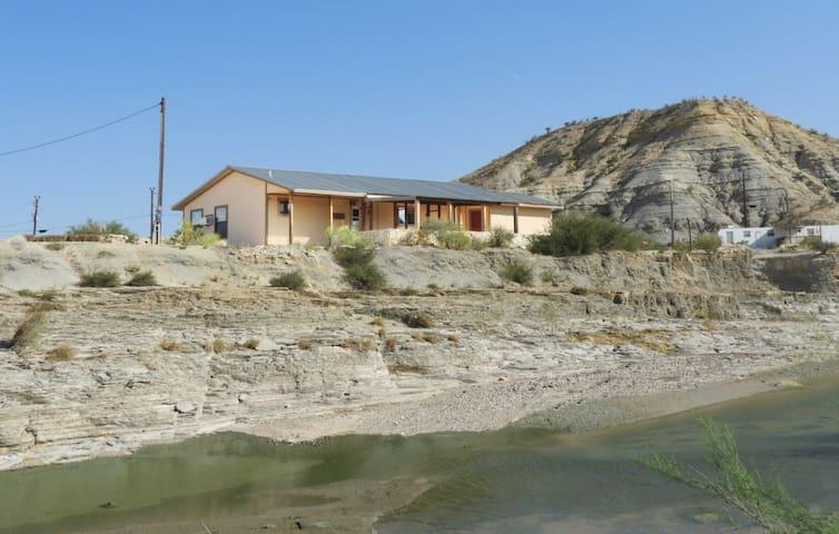 Terlingua Creek Porch House: On Terlingua Creek