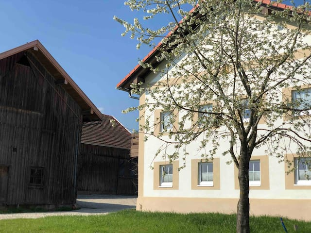 Rabenbrunn ein schönes Ferienhaus in Alleinlage