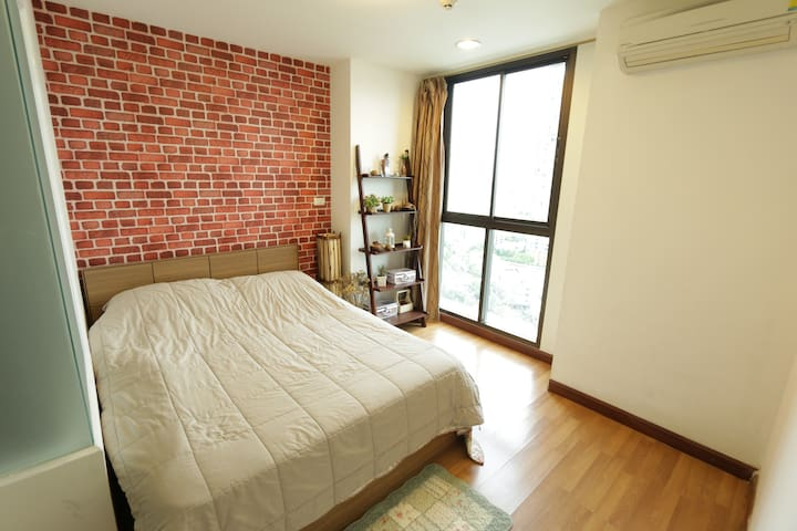 Skyrise Apartment very near Subway - Bangkok - Condominio