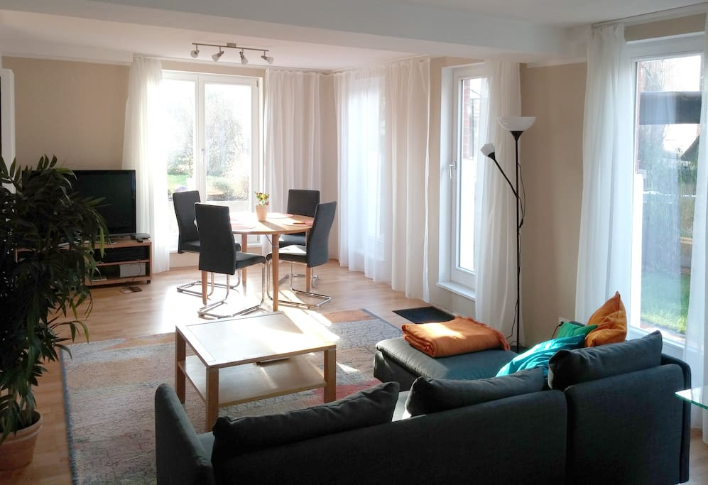 Sunny Quiet 2 5 Room Flat Garden Close To Centre Apartments For Rent In Braunschweig