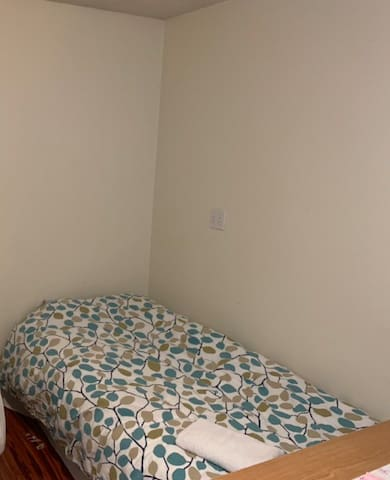 Males dormitory- you take one of the 4 beds