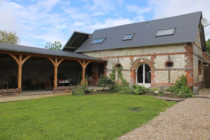 maison indépendante au coeur de la forêt de Lyons - La Feuillie - Huis