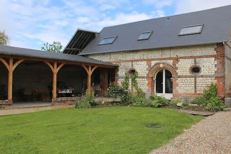 maison indépendante au coeur de la forêt de Lyons - La Feuillie