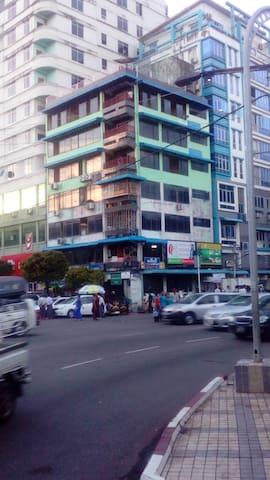 CSS place (with a nice view of Yangon)