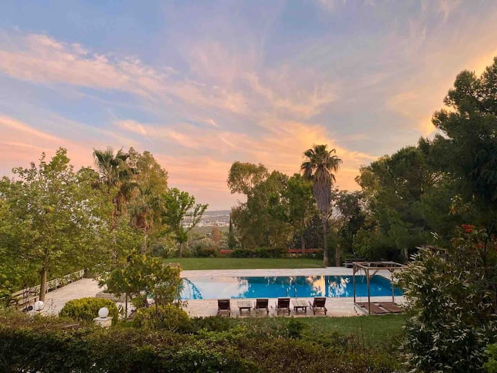 Astra Home with Private Pool and Garden