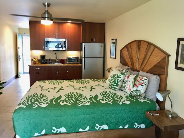 Best Value, King Bed, In Kona Town - Kailua-Kona - Daire