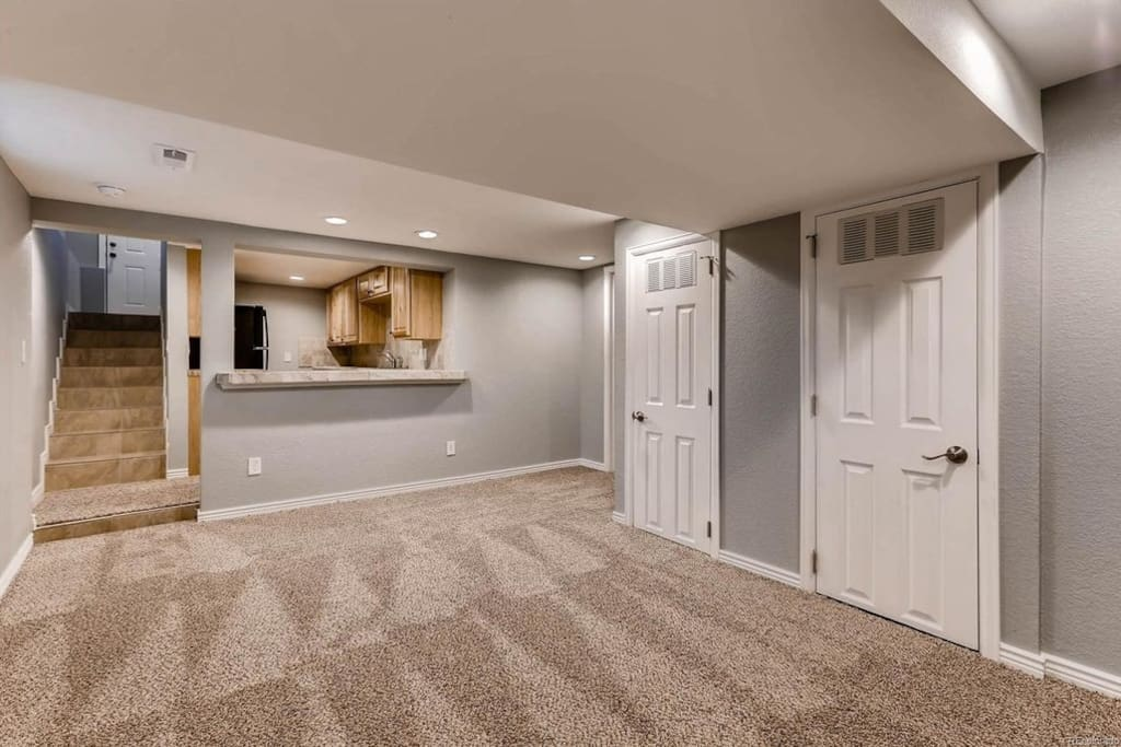 Private living room bathroom kitchen bedroom for The family room wheat ridge