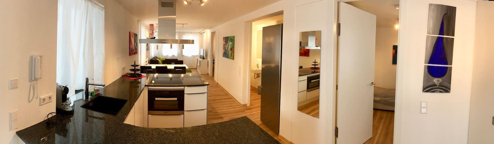 Exkl. 3Z Stadt Apartment Hight Level bis 5 P WLAN
