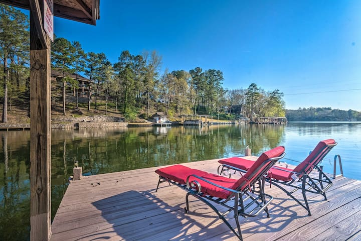 Hot Springs Home on Lake Hamilton Waterfront