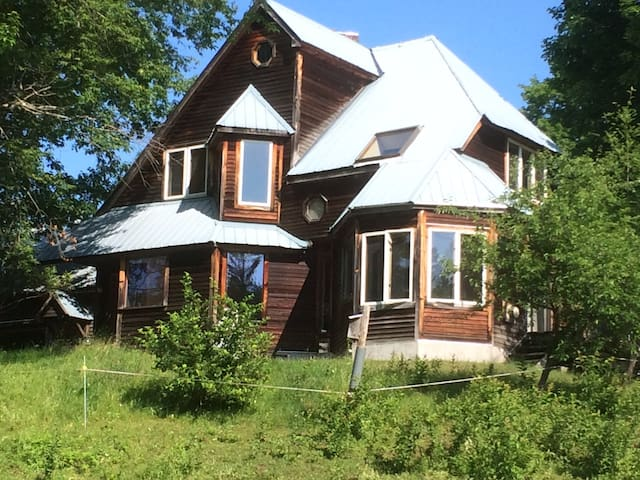 Unique Custom Country Home - Irasburg - Rumah