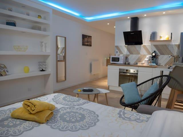 Appartement hyper centre literie neuve + NETFLIX