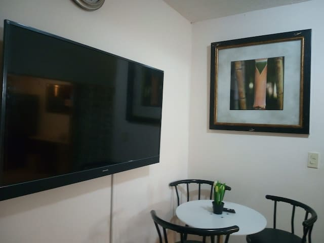 "Tibas, UNIBE University, Small Apart. Smart 50"" TV"