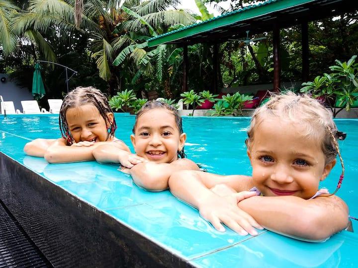 Unawatuna Abundia Pool View Family Room
