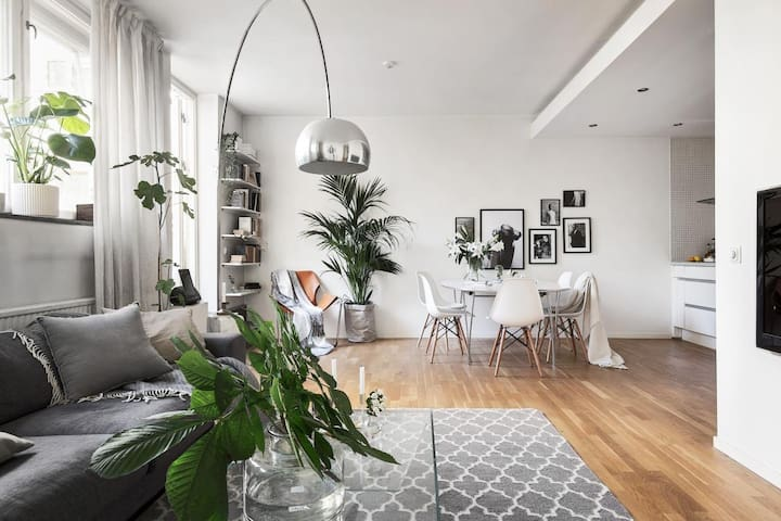 Luxurious city apartment Östermalm STOCKHOLM - Stockholm - Lejlighed