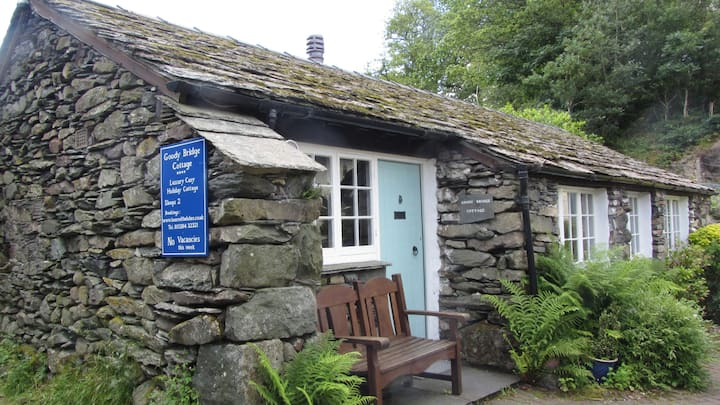Detached stone-built Cottage just outside Grasmere
