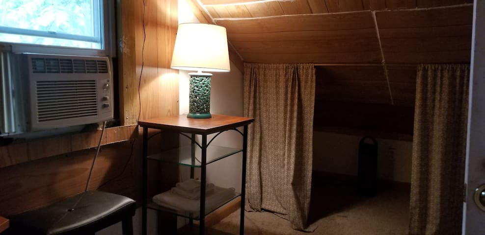 Attic Room with AC and TV
