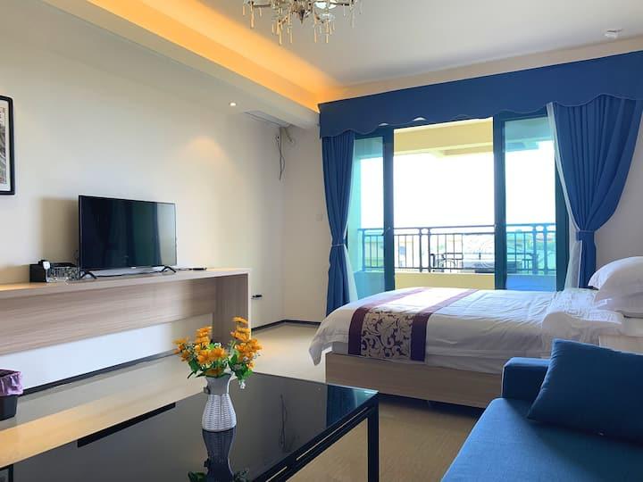 同层三间大床房整租 近十里银滩闸坡大角湾景区 周边配套设施齐全