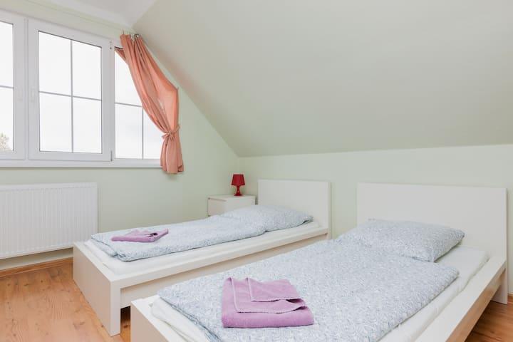 Holiday House Muschel IV | balcony - Międzywodzie - House