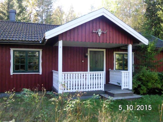 Haus mit Sauna auf einem Naturgrundstück - Dals-Ed S - Haus