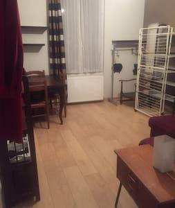 Grande chambre meublée dans appartement avec cour - Alfortville