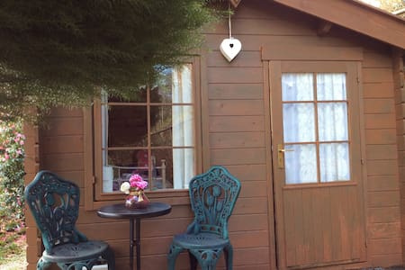 Tranquility Hut sleeps 1 adult 1chd - St Austell - 小屋