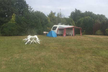 Tent Pitch- Ty Isaf Caravan and Camping park