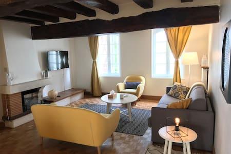 Appartement de charme Vieux Chinon 80 m2 Refait