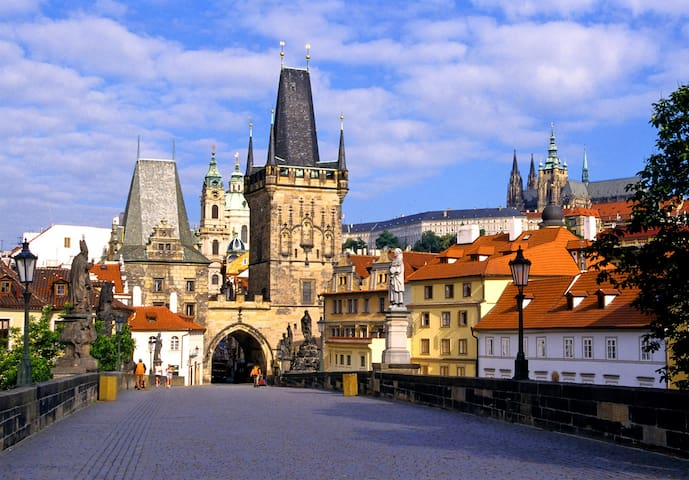 New Apartment in the city center -- Charles Bridge