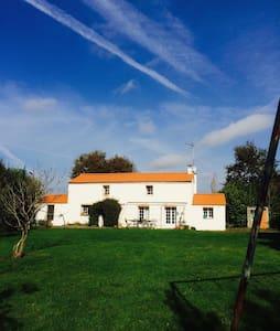 Maison campagne proche mer - Vendée - Poiroux
