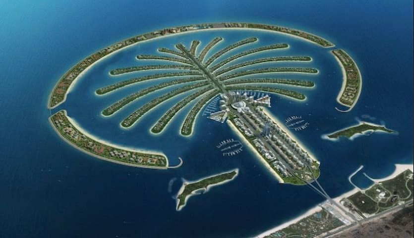 Single room in a luxury apartment on Palm Jumeirah - Дубаи