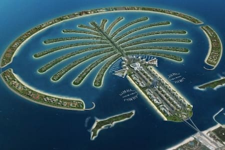 Single room in a luxury apartment on Palm Jumeirah - 迪拜