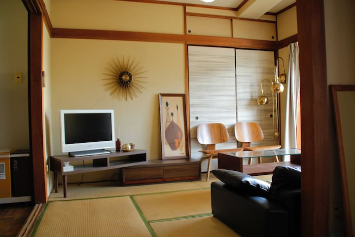 Shibuya Japanese-style room 2DK + Wifi + Pkt Wifi - Shibuya-ku