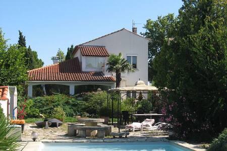 Maison Blanche en Provence - Sainte-Cécile-les-Vignes - Casa
