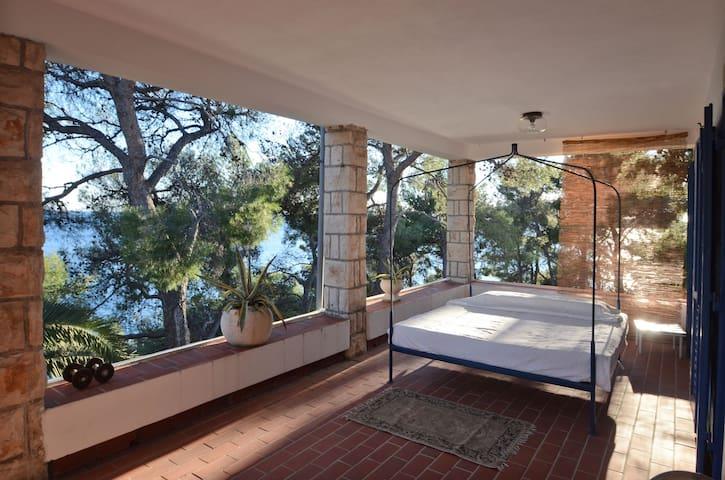 """Villa """"Tri Palme"""" with private beach and garden - Smokvica - 別荘"""
