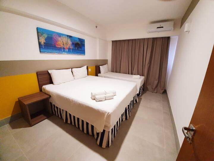 Olimpia Park Resort, conforto, segurança, diversã