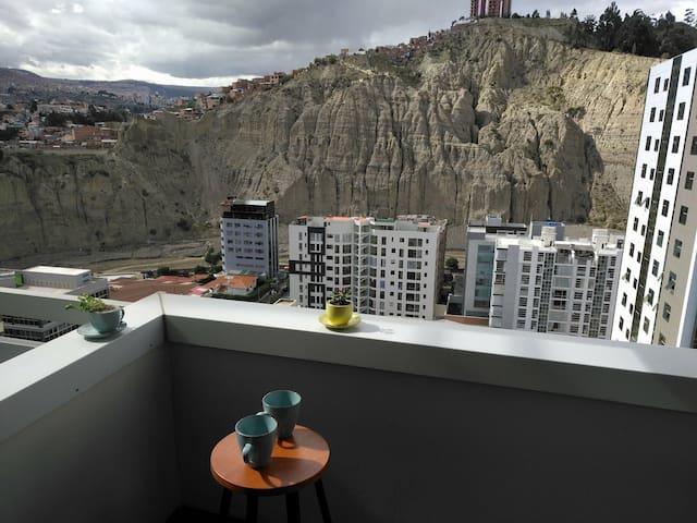 Departamento con super vista/Great view apartment.