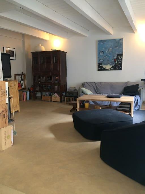 Rez de chaussée - Salon 25 m²