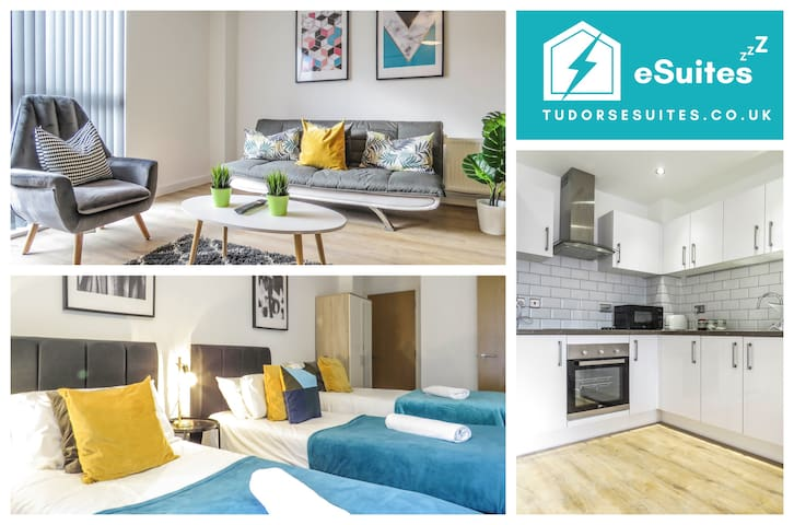 🌟Tudors eSuites🌟 Canal Side Apartments 🛎